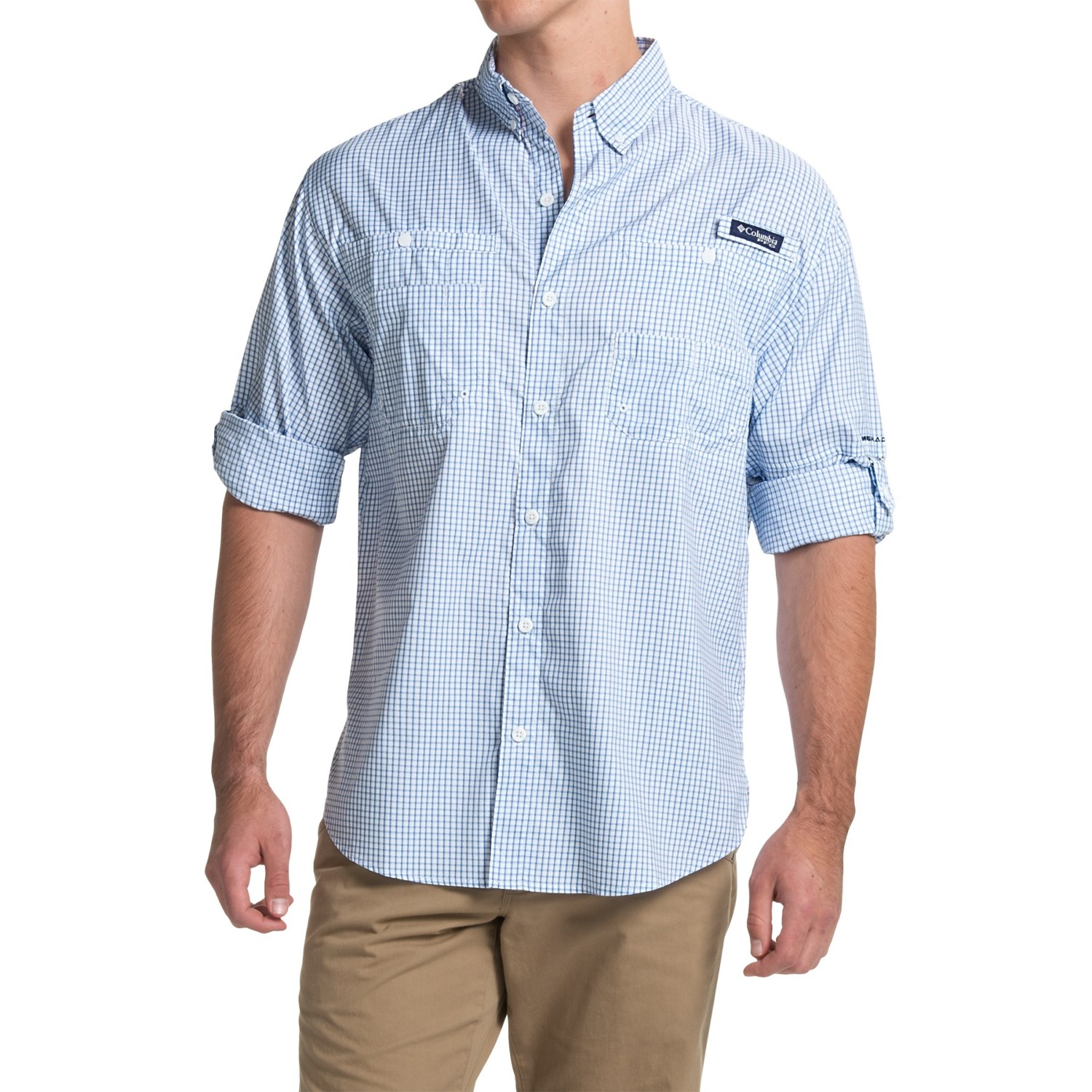 columbia sportswear pfg super tamiami fishing shirt for men