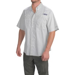 Columbia Sportswear PFG Super Tamiami Shirt - UPF 40, Short Sleeve (For Men) in Commando Gingham