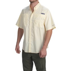 Columbia Sportswear PFG Super Tamiami Shirt - UPF 40, Short Sleeve (For Men) in Crescent Gingham