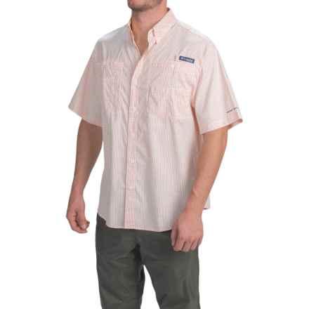 Columbia Sportswear PFG Super Tamiami Shirt - UPF 40, Short Sleeve (For Men) in Jupiter Gingham - Closeouts
