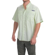 Columbia Sportswear PFG Super Tamiami Shirt - UPF 40, Short Sleeve (For Men) in Key West Gingham - Closeouts