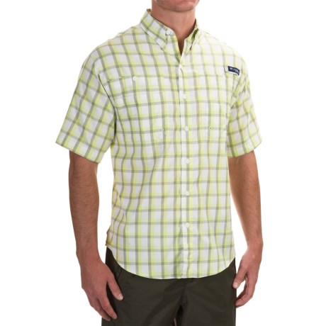 Columbia Sportswear PFG Super Tamiami Shirt - UPF 40, Short Sleeve (For Men) in Tippet Plaid