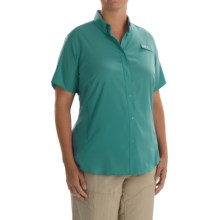 Columbia Sportswear PFG Tamiami II Fishing Shirt - UPF 40, Short Sleeve (For Plus Size Women) in Miami - Closeouts