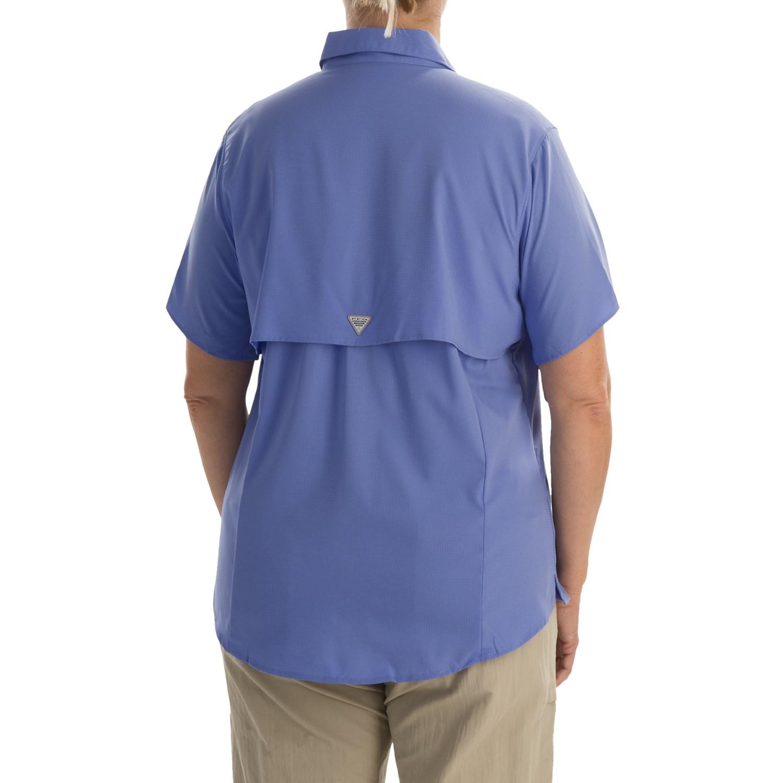 Columbia Sportswear Pfg Tamiami Ii Fishing Shirt For Plus