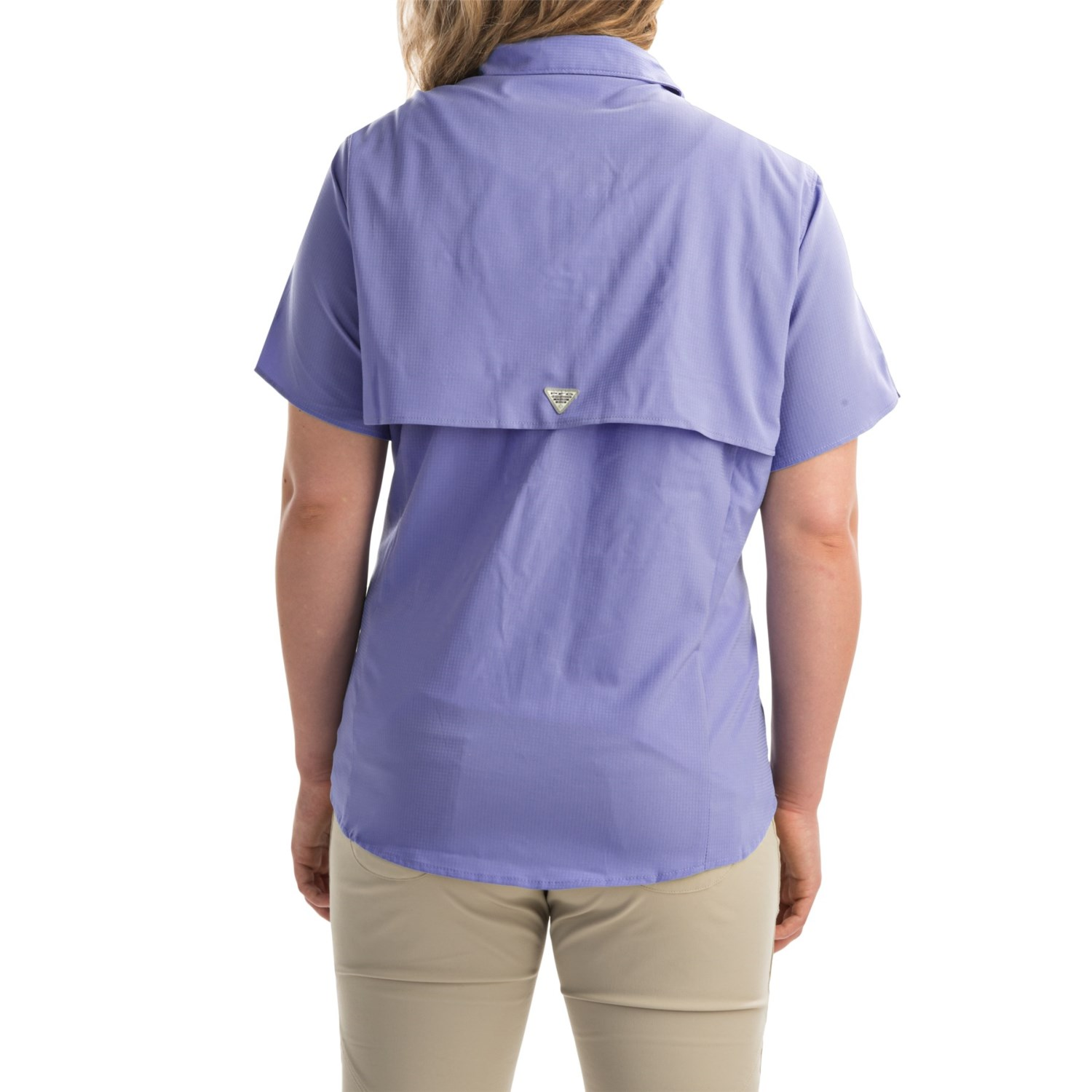 Columbia sportswear pfg tamiami ii fishing shirt for plus for Columbia shirts womens pfg