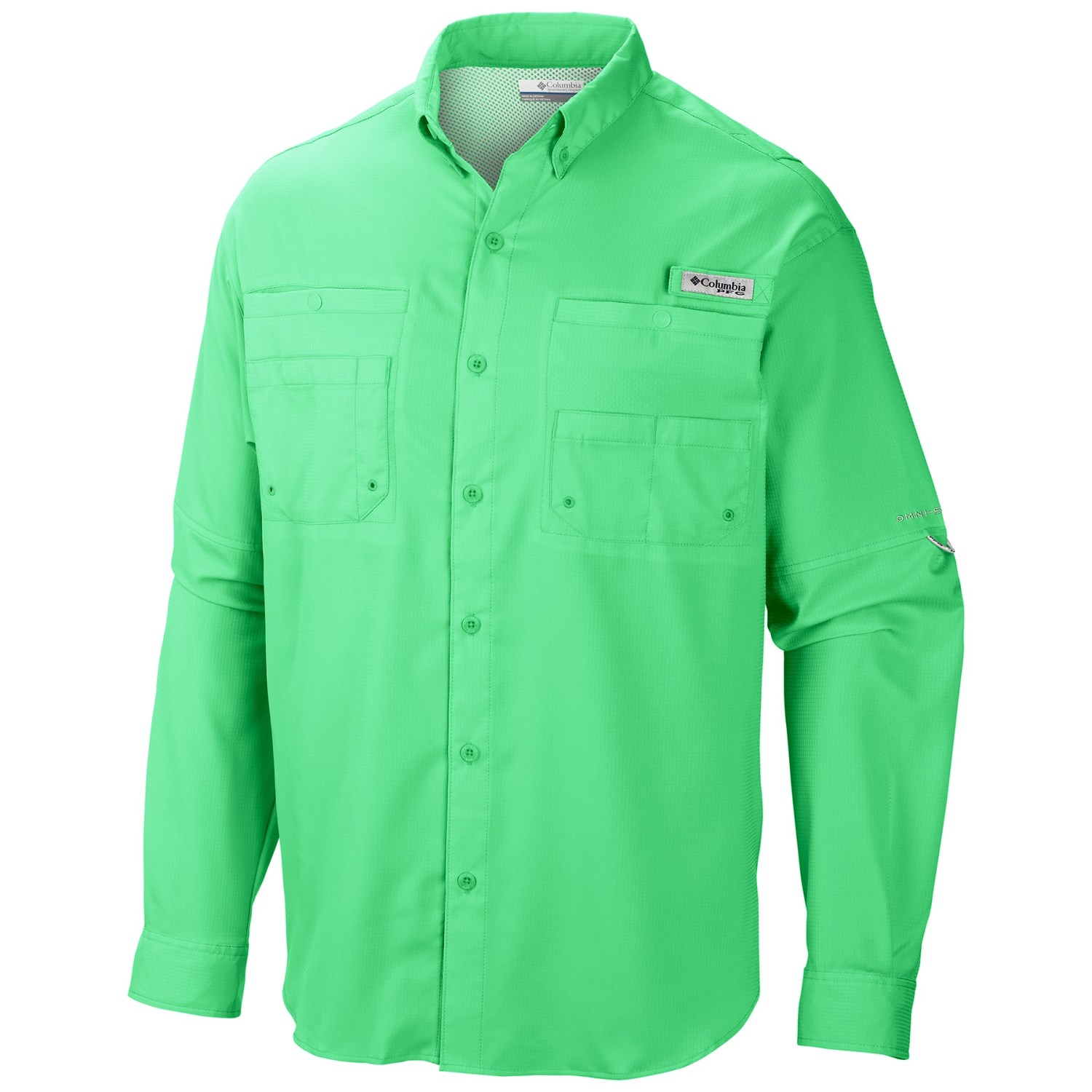 Columbia sportswear pfg tamiami ii shirt upf 40 long for Design your own t shirt big and tall