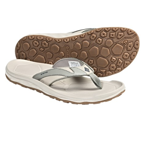 Columbia Sportswear PFG Techsun Flip III Sandals (For Men) in Sage