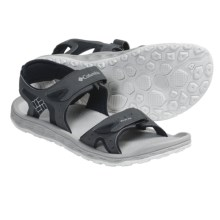Columbia Sportswear PFG Techsun III Sandals - Leather (For Men) in Charcoal - Closeouts