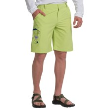 Columbia Sportswear PFG Terminal Tackle Shorts - Omni-Shield®, UPF 50 (For Men) in Napa Green/Marine Blue - Closeouts