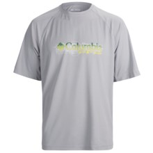 Columbia Sportswear PFG Terminal Tackle T-Shirt - UPF 50, Short Sleeve (For Men) in Cool Grey Inland Slam - Closeouts