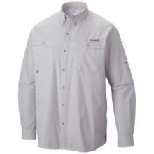 Columbia Sportswear PFG Terminal Zero Shirt - UPF 50, Long Sleeve (For Men) in Cool Grey - Closeouts