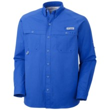 Columbia Sportswear PFG Terminal Zero Shirt - UPF 50, Long Sleeve (For Men) in Vivid Blue - Closeouts