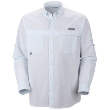 Columbia Sportswear PFG Terminal Zero Shirt - UPF 50, Long Sleeve (For Men) in White - Closeouts