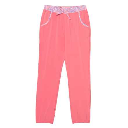 Columbia Sportswear PFG Tidal Pull-On Omni-Shield® Pants - UPF 50 (For Little and Big Girls) in Lollipop