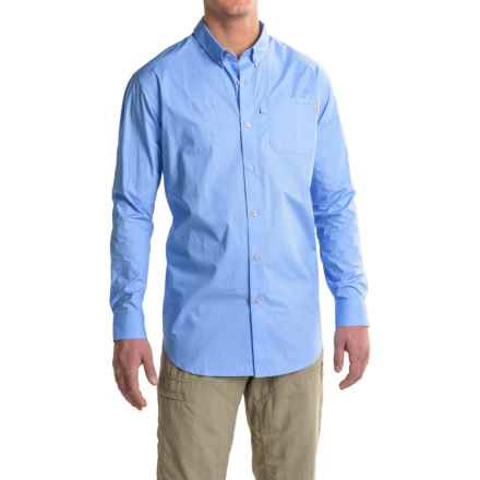 Columbia Sportswear PFG Trawler Shirt - Long Sleeve (For Men) in White Cap - Closeouts