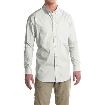 Columbia Sportswear PFG Trawler Shirt - Long Sleeve (For Men) in White - Closeouts