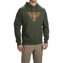 Columbia Sportswear PFG Triangle Hoodie (For Men) in Surplus Green/Koi - Closeouts
