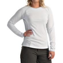 Columbia Sportswear PFG Ultimate Catch Omni-Freeze® ZERO Shirt - UPF 50+, Long Sleeve (For Women) in White/Cirrus Grey - Closeouts