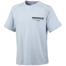 Columbia Sportswear PFG Ultimate Chill Shirt - UPF 30, Short Sleeve (For Men) in Mirage - Closeouts