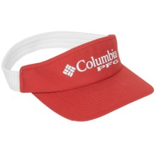 Columbia Sportswear PFG Visor (For Men and Women) in Sail Red - Closeouts