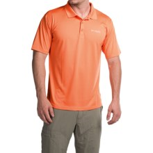 Columbia Sportswear PFG ZERO Rules Omni-Freeze® ZERO Polo Shirt- UPF 30, Short Sleeve (For Men) in Jupiter - Closeouts