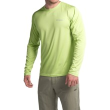 Columbia Sportswear PFG Zero Rules Shirt - UPF 30, Long Sleeve (For Men) in Napa Green - Closeouts