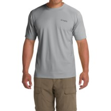 Columbia Sportswear PFG Zero Rules Shirt - UPF 30, Short Sleeve (For Men) in Cool Grey - Closeouts