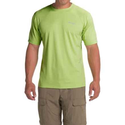 Columbia Sportswear PFG Zero Rules Shirt - UPF 30, Short Sleeve (For Men) in Napa Green - Closeouts