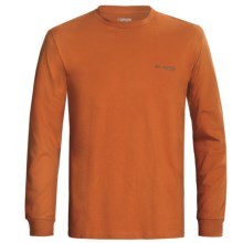 Columbia Sportswear PHG Marksman T-Shirt - UPF 15, Long Sleeve (For Men) in Cedar - Closeouts