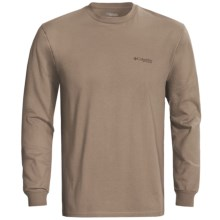 Columbia Sportswear PHG Marksman T-Shirt - UPF 15, Long Sleeve (For Men) in Flax - Closeouts