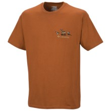 Columbia Sportswear PHG Periodic Hunting Chart Shirt - UPF 15, Short Sleeve (For Men) in Cedar - Closeouts