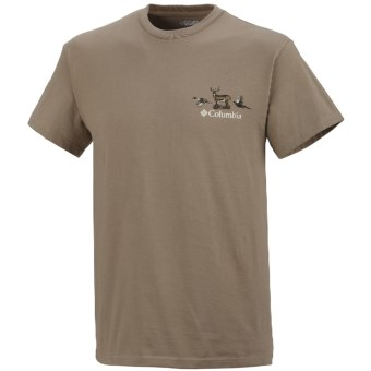 Columbia Sportswear PHG Periodic Hunting Chart Shirt - UPF 15, Short Sleeve (For Men) in Flax