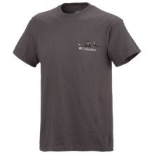Columbia Sportswear PHG Periodic Hunting Chart Shirt - UPF 15, Short Sleeve (For Men) in Grill - Closeouts