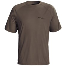 Columbia Sportswear PHG Terminal Shot T-Shirt - UPF 50, Short Sleeve (For Men) in Mud/Whitetal 2 - Closeouts