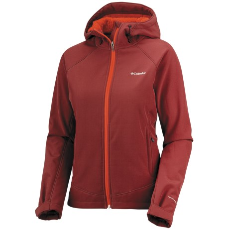 Columbia Sportswear Phurtec Soft Shell Jacket (For Women) in Red Element