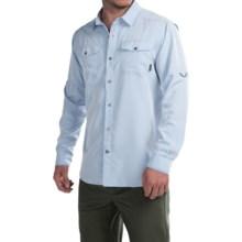 Columbia Sportswear Pilsner Peak Omni-Wick® Shirt - UPF 50, Long Sleeve (For Men) in Pacific Blue Heather - Closeouts