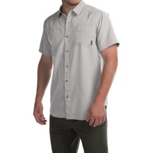 Columbia Sportswear Pilsner Peak Omni-Wick® Shirt - UPF 50, Short Sleeve (For Men) in Columbia Grey Heather - Closeouts