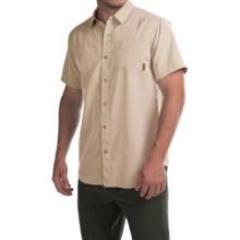 Columbia Sportswear Pilsner Peak Omni-Wick® Shirt - UPF 50, Short Sleeve (For Men) in Lion Heather - Closeouts
