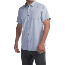 Columbia Sportswear Pilsner Peak Omni-Wick® Shirt - UPF 50, Short Sleeve (For Men) in Pacific Blue Heather - Closeouts