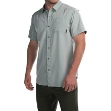 Columbia Sportswear Pilsner Peak Omni-Wick® Shirt - UPF 50, Short Sleeve (For Men) in Pine Green Heather - Closeouts