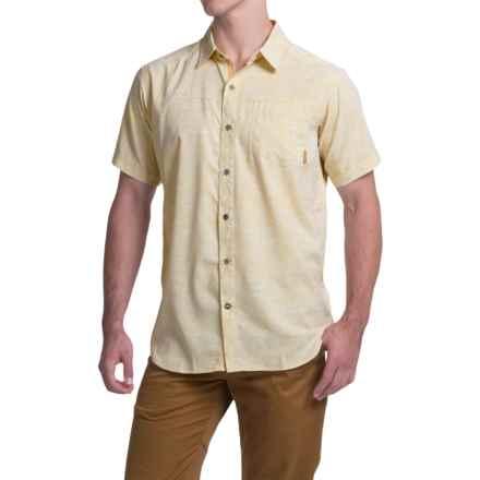 Columbia Sportswear Pilsner Peak Print Omni-Wick® Shirt - UPF 50+, Short Sleeve (For Men) in Lion Campfire Print - Closeouts
