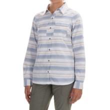 Columbia Sportswear Pilsner Peak Stripe Shirt - Omni-Wick®, UPF 50, Long Sleeve (For Women) in Bluebell Stripe - Closeouts