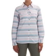 Columbia Sportswear Pilsner Peak Stripe Shirt - Omni-Wick®, UPF 50, Long Sleeve (For Women) in Cloudburst Stripe - Closeouts