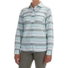 Columbia Sportswear Pilsner Peak Stripe Shirt - Omni-Wick®, UPF 50, Long Sleeve (For Women) in Cypress Stripe - Closeouts