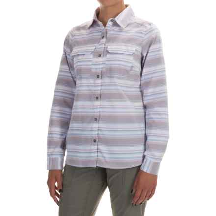 Columbia Sportswear Pilsner Peak Stripe Shirt - Omni-Wick®, UPF 50, Long Sleeve (For Women) in Enchanted Stripe - Closeouts