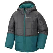 Columbia Sportswear Pine Pass Jacket - Insulated (For Little and Big Boys) in Deep Wave - Closeouts