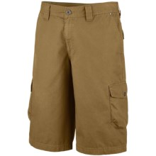 Columbia Sportswear Pioneer Peak Cargo Shorts - UPF 50 (For Big Men) in Glare - Closeouts