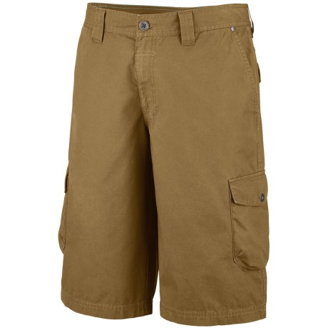 Columbia Sportswear Pioneer Peak Cargo Shorts - UPF 50 (For Big Men) in Glare