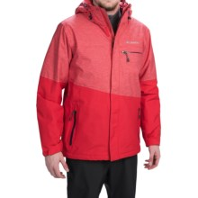 Columbia Sportswear Piste Beast Omni-Heat® Ski Jacket - Waterproof, Insulated (For Men) in Bright Red - Closeouts