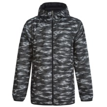 Columbia Sportswear Pixel Grabber II Wind Jacket (For Kids) in Black Camo - Closeouts